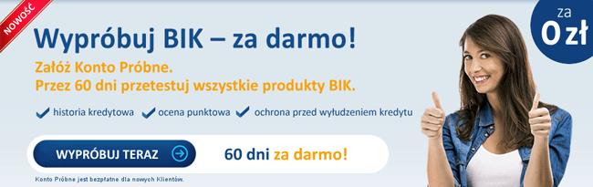 bik.pl - wypróbuj za darmo