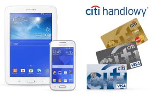 CitiBank: Tablet Galaxy Tab 3 Lite lub telefon Galaxy Trend 2 za założenie karty kredytowej
