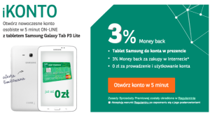 Tablet za iKonto w BNP Paribas