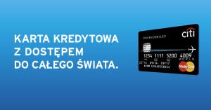 Citibank: karta kredytowa PremierMiles