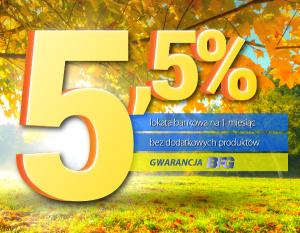 Jesienna Lokata Bankowa Expander 5,5%