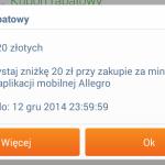 Kolejne 20 zł zniżki na Allegro!