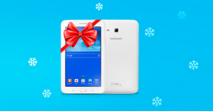 Tablet Galaxy Tab za wyrobienie karty kredytowej Citibank!