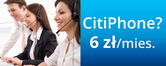 CitiPhone: 6 zł miesięcznie