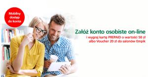 50 zł bonusu za założenie konta mobilnego w BZWBK