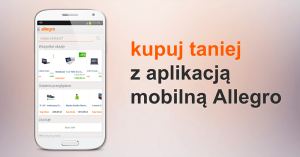 20, 30 lub 50 zł zniżki na Allegro w aplikacji mobilnej