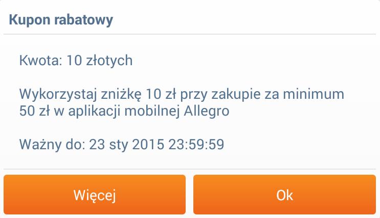 Wracaja Kody Rabatowe Na Allegro Tym Razem 10 Zl