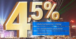 Lokata Styczniowa w Expander: 4,5% do 100 tys. złotych