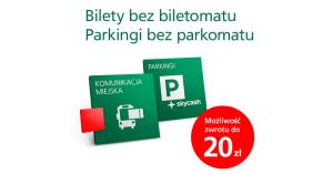 Darmowe parkomaty i komunikacja miejska z BZWBK