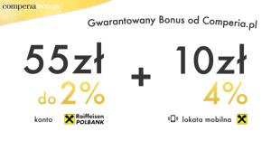 Comperia Bonus: jak uzupełnić dane do odbioru premii? (+ prezent 50 zł)
