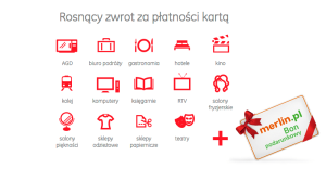 """Karta Fair: bon 200 zł do Merlin.pl oraz do 3% zwrotu za zakupy w promocji """"Coś ekstra"""""""