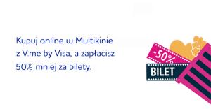 50% zniżki na bilety do Multikina dzięki V.me!