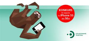 """Wygraj iPhone 5s lub kartę prepaid o wartości 50 zł w konkursie BZWBK """"Doładuj telefon na leniwca i oszczędzaj czas"""""""