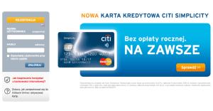 Loguj siędo Citibank Online, wydaj 200 zł i zgarnij 50 zł