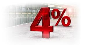 Do 4% na Lokacie Nowe Oszczędności i do 5% na Lokacie Nowy Start dla obecnych klientów Eurobanku
