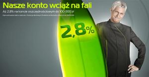 2,8% na koncie oszczędnościowym BGŻOptima do 5 lutego 2016
