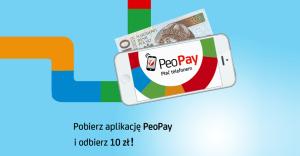 10 zł za pobranie aplikacji PeoPay Banku Pekao