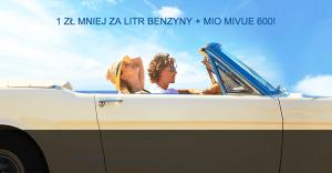 Wideorejestrator MiVue 600 i 1 zł mniej za litr paliwa od Citibanku!
