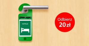 BZWBK: 20 zł zwrotu za wynajem hotelu przez aplikację mobilną