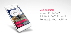 Zyskaj 360 zł z Kontem 360° – startuje druga edycja promocji