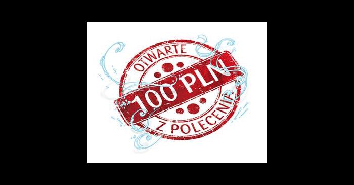 100 złza otwarcie konta w PKO BP