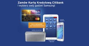 Citibank: telefon, tablet lub bezprzewodowy głośnik za wyrobienie karty kredytowej MasterCard World