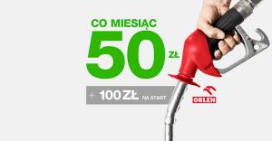 Getin UP: 600 zł zwrotu na stacjach Orlen + 100 zł za przeniesienie rachunku