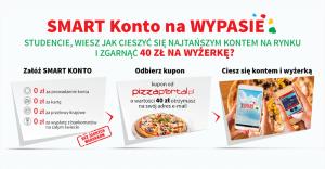 Smart Konto na wypasie: 40 zł do wydania na PizzaPortal za założenie rachunku