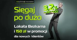 150 zł za założenie Lokaty Bezkarnej na grouponie
