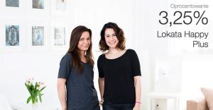 Lokata Happy Plus: 3,25% do 100 000 zł dla nowych klientów