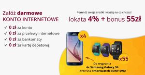 Comperia Bonus: 55 zł za założenie Konta Internetowego i lokaty 4%