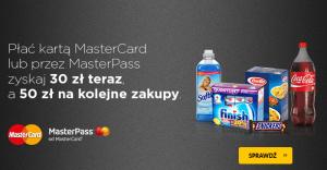 30 + 50 zł zniżki na bdsklep za płatność MasterCard (lub MasterPass)