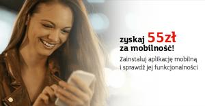Mobilni mająlepiej: 55 zł dla obecnych klientów mBanku