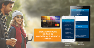 Tablet Lenovo Tab 2 lub telefon Samsung Galaxy J1 i 240 zł premii za wyrobienie karty kredytowej Citibank!