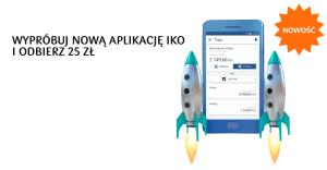 25 zł premii od IKO dla klientów PKO BP i Inteligo