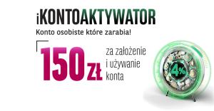150 zł za założenie iKontoaktywatora BGŻ BNP Paribas na grouponie