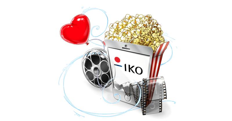 Wybierz siędo kina z aplikacją IKO PKO BP