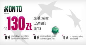 130 zł za założenie iKonta w BGŻ BNP Paribas