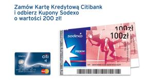 200 zł w bonach Sodexo za wyrobienie karty Simplicity