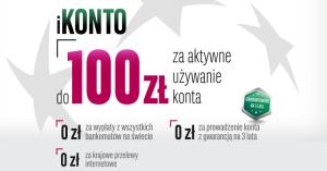 100 zł za założenie iKonta BGŻ BNP Paribas