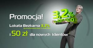 50 zł za założenie Lokaty Bezkarnej BGŻOptima