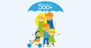 """Do 450 zł za wpływ świadczenia """"Rodzina 500+"""" na nowo-otwarte Konto Godnego Polecenia"""