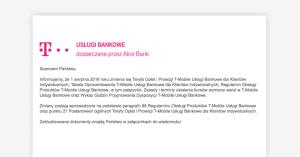 T-Mobile Usługi Bankowe zmienia tabelę opłat. Od sierpnia nowe konto Freemium i Premium