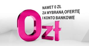 Darmowy abonament no-limit, internet LTE czy moneyback 5%? Prześwietlamy ofertę T-Mobile Usługi Bankowe
