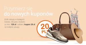 Kod rabatowy 20 zł na Allegro za zakupy w kategorii Odzież, Obuwie, Dodatki