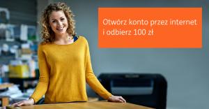 100 zł premii za założenie Konta Direct w ING Banku Śląskim