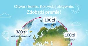 Premia 560 zł za założenie Konta 360