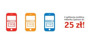 Mobilni mająlepiej: 25 zł dla obecnych klientów mBanku