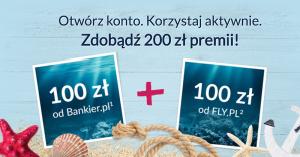 200 zł za założenie Konta 360 od Bankier i Fly.pl