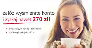 270 zł za założenie konta w Eurobanku i zakupy w sklepie Tchibo